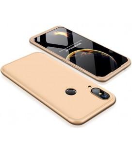 """Auksinės spalvos dėklas Huawei P20 Lite telefonui """"360"""""""