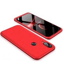 """Raudonas dėklas Huawei P20 Lite telefonui """"360"""""""