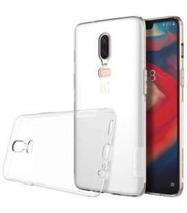 """Skaidrus silikoninis dėklas OnePlus 6 telefonui """"Nillkin Nature"""""""