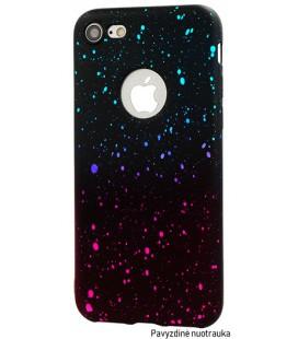 """Rožinis - mėlynas dėklas Huawei P Smart telefonui """"Splash Soft Case"""""""