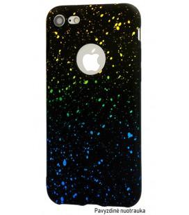 """Geltonas - mėlynas dėklas Huawei P Smart telefonui """"Splash Soft Case"""""""