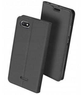 """Pilkas atverčiamas dėklas Xiaomi Redmi 6 telefonui """"Dux Ducis Skin"""""""