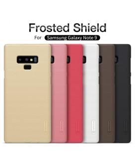 """Auksinės spalvos dėklas Samsung Galaxy Note 9 telefonui """"Nillkin Frosted Shield"""""""