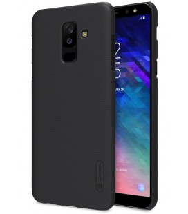 "Juodas dėklas Samsung Galaxy A6 Plus 2018 telefonui ""Nillkin Frosted Shield"""