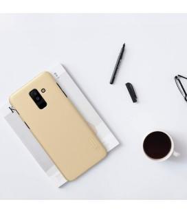 """Juodas plastikinis dėklas Huawei P Smart telefonui """"Nillkin Frosted Shield"""""""