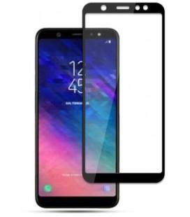 """Juodas 5D apsauginis grūdintas stiklas Samsung Galaxy A6 2018 telefonui """"Mocolo"""""""