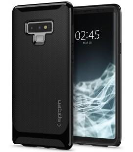 "Juodas dėklas Samsung Galaxy Note 9 telefonui ""Spigen Neo Hybrid"""