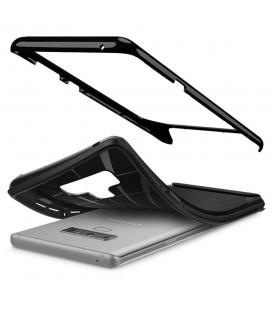 """Juodas atverčiamas Carbon dėklas Apple iPhone 7/8 telefonui """"Book Vennus Carbon Z"""""""