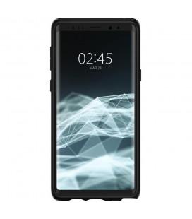 """Juodas atverčiamas Carbon dėklas Samsung Galaxy S8 telefonui """"Book Vennus Carbon Z"""""""