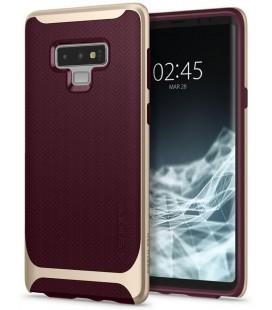 """Raudonas dėklas Samsung Galaxy Note 9 telefonui """"Spigen Neo Hybrid"""""""
