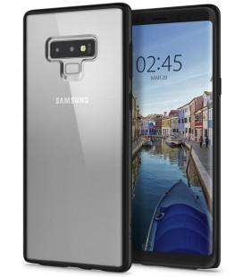 "Matinis juodas dėklas Samsung Galaxy Note 9 telefonui ""Spigen Ultra Hybrid"""