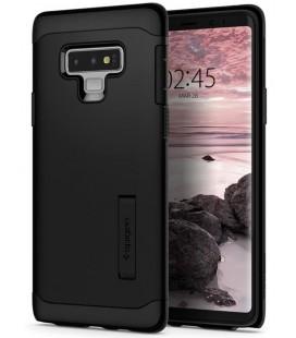 """Juodas dėklas Samsung Galaxy Note 9 telefonui """"Spigen Slim Armor"""""""