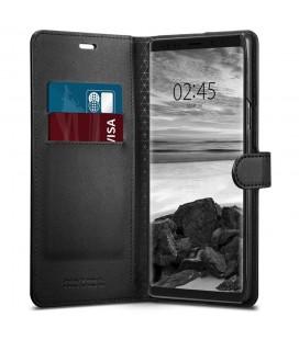 """Raudonas atverčiamas dėklas su rėmeliu Huawei P20 telefonui """"Book Vennus Z"""""""
