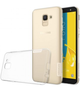 """Skaidrus silikoninis dėklas Samsung Galaxy J6 2018 telefonui """"Nillkin Nature"""""""