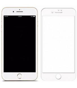 Lenktas baltas 3D apsauginis grūdintas stiklas Apple iPhone 6 Plus / 6s Plus telefonui