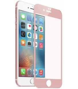 Lenktas rausvai auksinės spalvos 3D apsauginis grūdintas stiklas Apple iPhone 7 Plus / 8 Plus telefonui