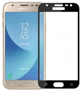 """Juodas 5D apsauginis grūdintas stiklas Samsung Galaxy J3 2017 telefonui """"Mocolo"""""""