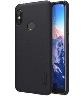 "Juodas dėklas Xiaomi Mi A2 Lite telefonui ""Nillkin Frosted Shield"""