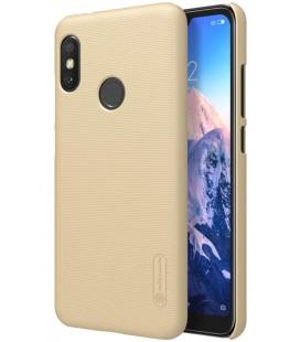 """Auksinės spalvos dėklas Xiaomi Mi A2 Lite telefonui """"Nillkin Frosted Shield"""""""