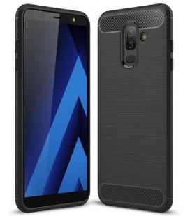 """Juodas dėklas Samsung Galaxy J8 2018 telefonui """"Tech-Protect"""""""