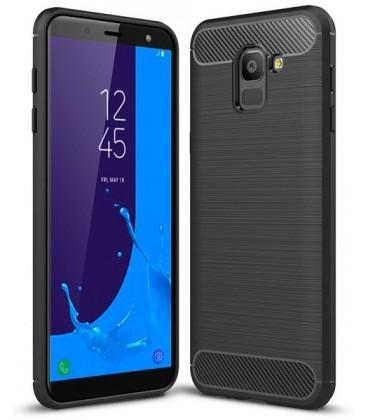 """Juodas dėklas Samsung Galaxy J6 2018 telefonui """"Tech-Protect"""""""