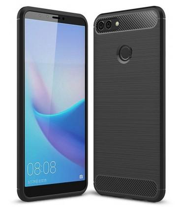 """Juodas dėklas Huawei Y9 2018 telefonui """"Tech-Protect"""""""