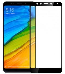 """Juodas 5D apsauginis grūdintas stiklas Xiaomi Redmi 5 telefonui """"Mocolo"""""""