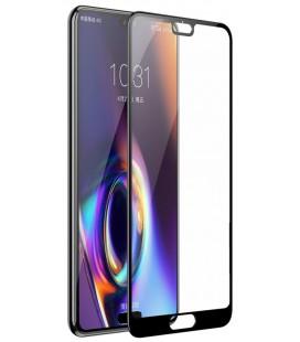 """Juodas 5D apsauginis grūdintas stiklas Huawei P20 Pro telefonui """"Mocolo"""""""