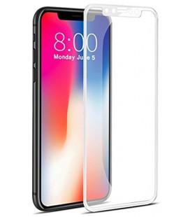 """Baltas 5D apsauginis grūdintas stiklas Apple iPhone X telefonui """"Mocolo"""""""