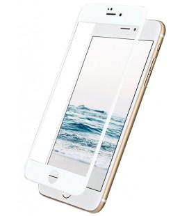 """Baltas 5D apsauginis grūdintas stiklas Apple iPhone 6/6s telefonui """"Mocolo"""""""