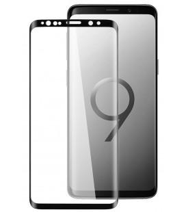 """Juodas 5D apsauginis grūdintas stiklas Samsung Galaxy S9 telefonui """"Mocolo"""""""