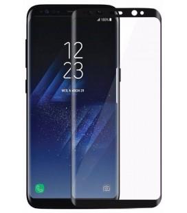 """Juodas 5D apsauginis grūdintas stiklas Samsung Galaxy S8 telefonui """"Mocolo"""""""