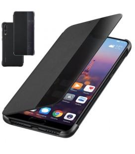 """Originalus juodas atverčiamas dėklas Huawei P20 Pro telefonui """"Smart View Flip Cover"""""""