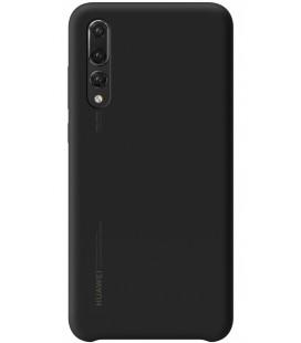 """Originalus juodas dėklas Huawei P20 Pro telefonui """"Silicon Case"""""""
