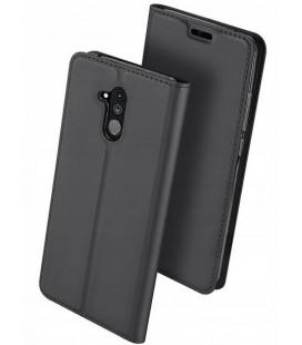 """Pilkas atverčiamas dėklas Huawei Mate 20 Lite telefonui """"Dux Ducis Skin"""""""