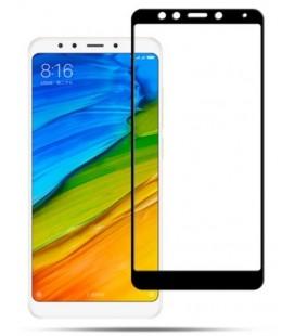 """Juodas apsauginis grūdintas stiklas Xiaomi Redmi 5 Plus telefonui """"Mocolo"""""""