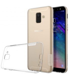 """Skaidrus silikoninis dėklas Samsung Galaxy A6 2018 telefonui """"Nillkin Nature"""""""