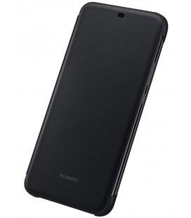 """Originalus juodas atverčiamas dėklas Huawei Mate 20 Lite telefonui """"Flip Cover"""""""