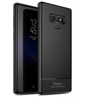 """Juodas dėklas Samsung Galaxy Note 9 telefonui """"iPaky Carbon Fiber"""""""