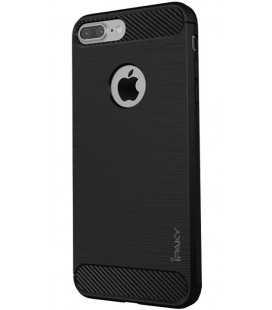 "Juodas dėklas Apple iPhone 7 Plus / 8 Plus telefonui ""iPaky Slim Carbon"""