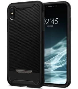 "Juodas dėklas Apple iPhone XS Max telefonui ""Spigen Hybrid Nx"""
