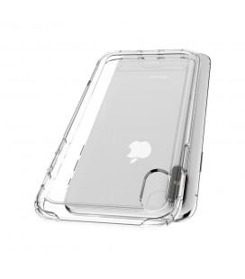 """Raudonas dėklas Huawei P20 Lite telefonui """"Glass Case"""""""