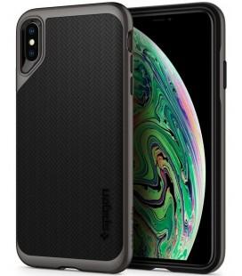 "Pilkas dėklas Apple iPhone XS Max telefonui ""Spigen Neo Hybrid"""