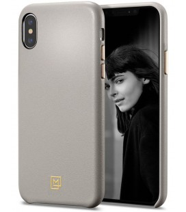 "Pilkas dėklas Apple iPhone XS Max telefonui ""Spigen La Manon Calin"""