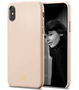 "Rožinis dėklas Apple iPhone XS Max telefonui ""Spigen La Manon Calin"""