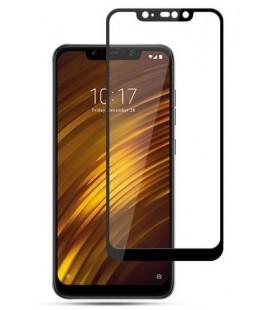 """Juodas apsauginis grūdintas stiklas Xiaomi Pocophone F1 telefonui """"Mocolo"""""""