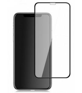 """Juodas apsauginis grūdintas stiklas Apple iPhone XR telefonui """"Mocolo"""""""