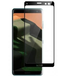 """Juodas apsauginis grūdintas stiklas Sony Xperia XZ3 telefonui """"Mocolo"""""""