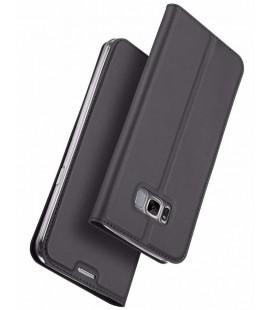 """Pilkas atverčiamas dėklas Samsung Galaxy S8 telefonui """"Dux Ducis Skin"""""""