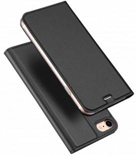 """Pilkas atverčiamas dėklas Apple iPhone 7/8 telefonui """"Dux Ducis Skin"""""""